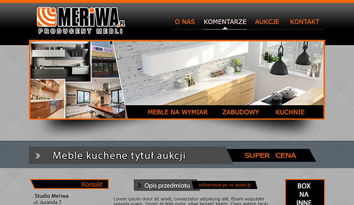 6915c2be20 Archiwa  Szablon Allegro - Mini Web