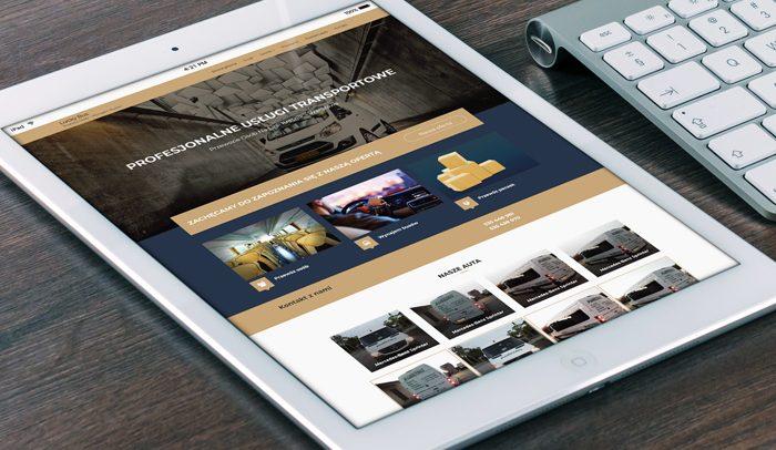 strona internetowa dla firmy wizytówka